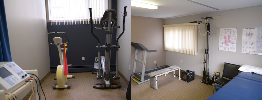 Salle readaptation physique physiotherapie sherbrooke